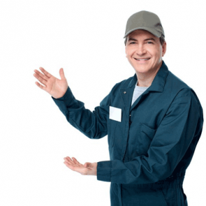 security system installer man